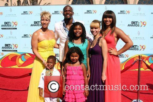 Terry Crews and Family  2009 BET Awards...