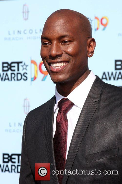 Tyrese GIbson 2009 BET Awards held at the...