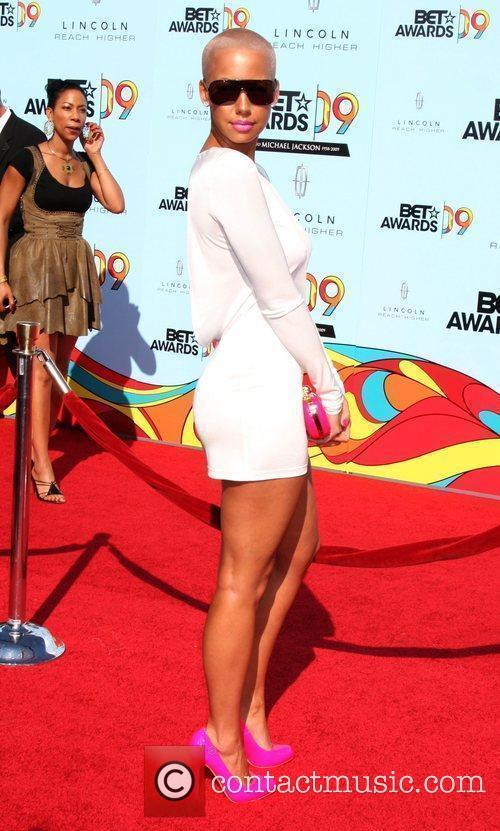Amber Rose 2009 BET Awards held at the...