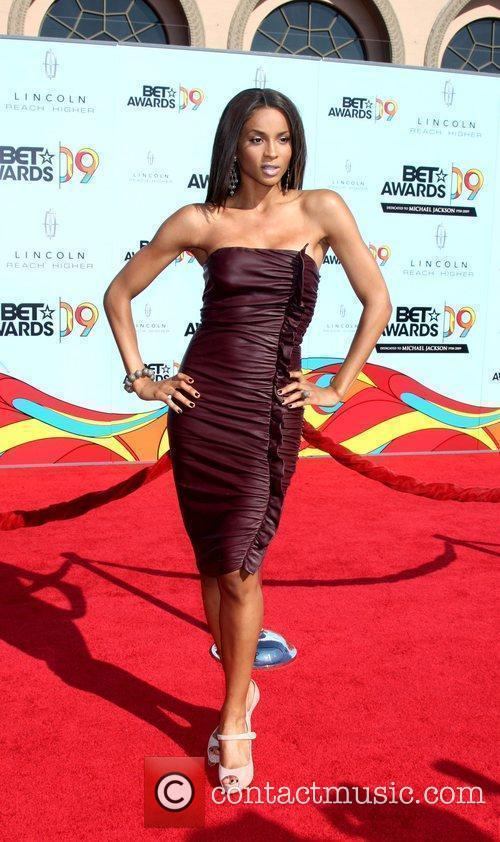 Ciara 2009 BET Awards held at the Shrine...