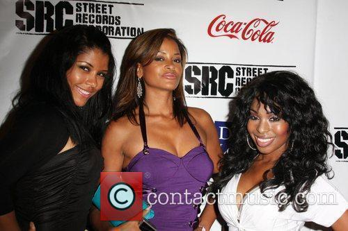 Guest, Claudia Jordan, Porscha Coleman BET Late night...