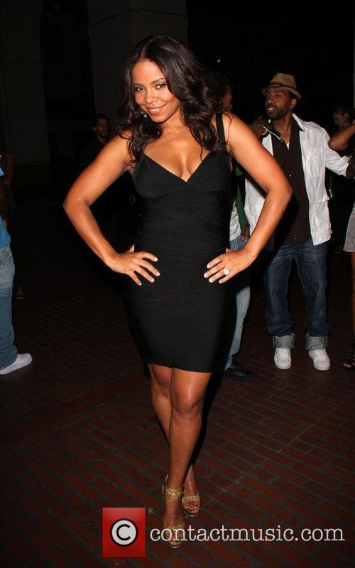 Sanaa Lathan BET Late night after party held...