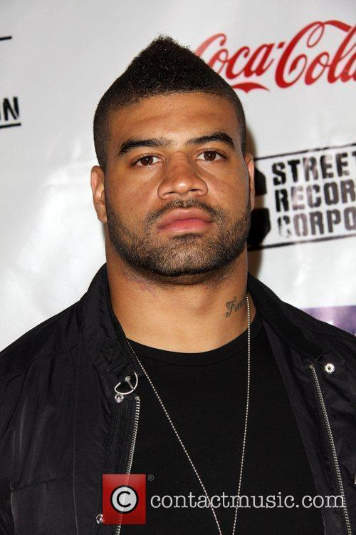Shawne Merriman BET Late night after party held...