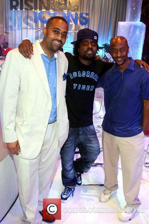 Alvin Bowles, Wale and Steven Hill Grey Goose...