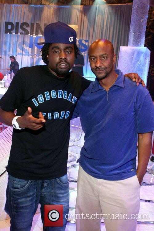 Wale and Steven Hill