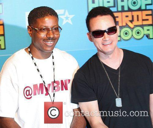 Kid 'n Play's Chris Martin and Christopher Reid...