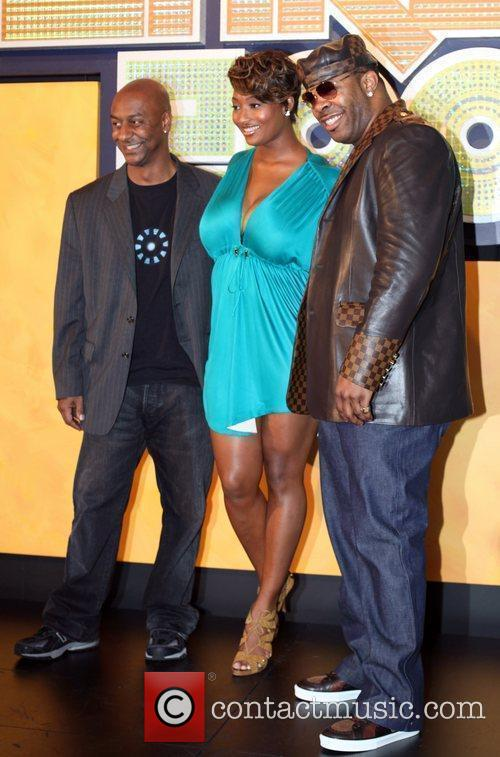Steven Hill, Toccara Jones and Busta Rhymes The...