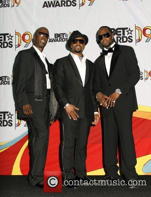 Aaron Hall, Teddy Riley, Damion Hall Of The Group Guy and Bet Awards