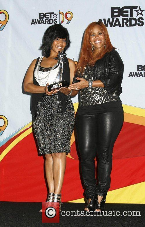 Erica Campbell and Tina Campbell of Mary Mary...