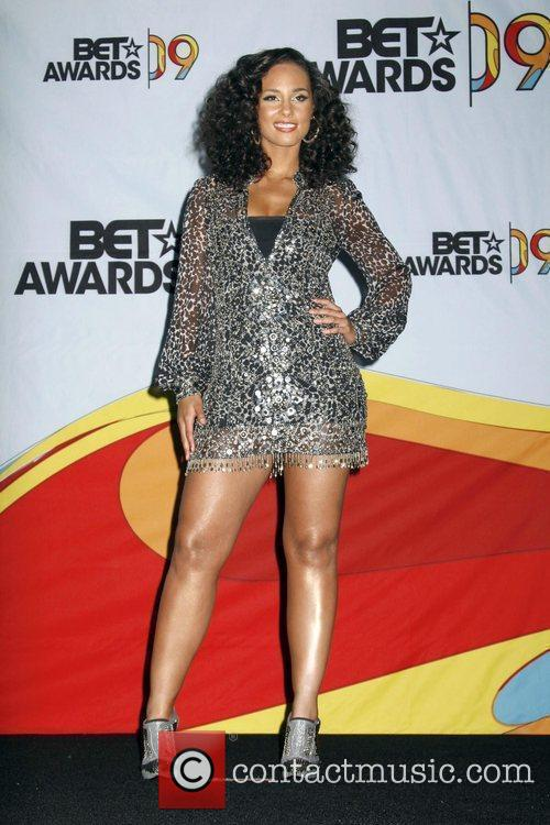 Alicia Keys 2009 BET Awards held at the...