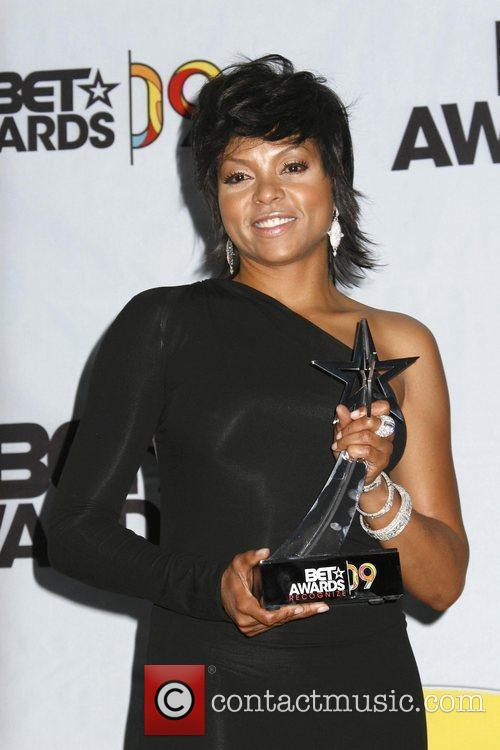 Taraji P. Henson 2009 BET Awards held at...