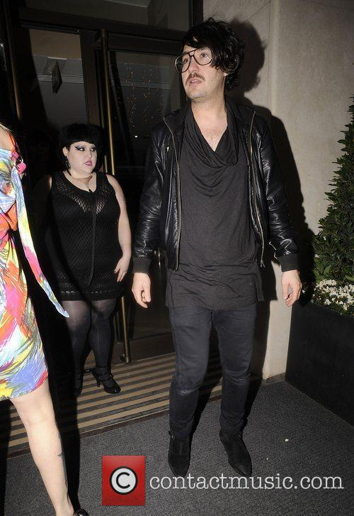 Beth Ditto and Brace Paine of The Gossip...