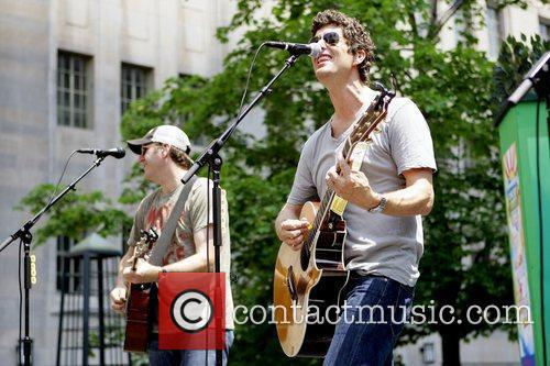 Better Than Ezra performing live at Pioneer Court...