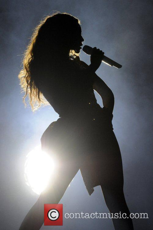 Beyonce Knowles and Staples Center 6