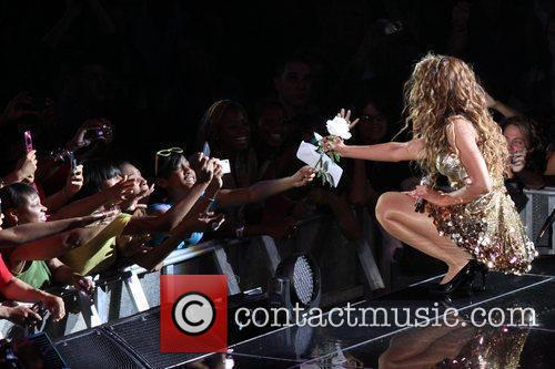 Beyonce Knowles and Madison Square Garden 10