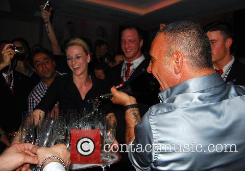 Chrisitan Audigier Ed Hardy Night at Felix club...