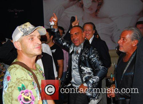 Christian Audigier and Felix Club 6