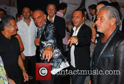 Christian Audigier and Felix Club 5