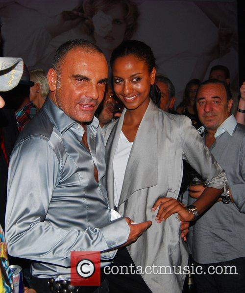Christian Audigier, Sara Nuru and Felix Club