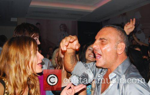 Guest, Christian Audigier Ed Hardy Night at Felix...