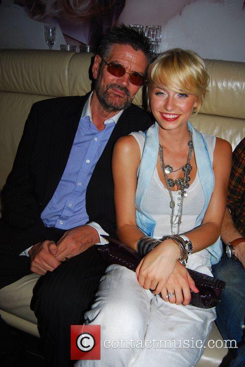 Gunther Klum, Lena Gercke Ed Hardy Night at...