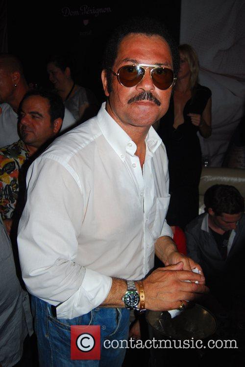 Karl-Heinz Schwensen Ed Hardy Night at Felix club...