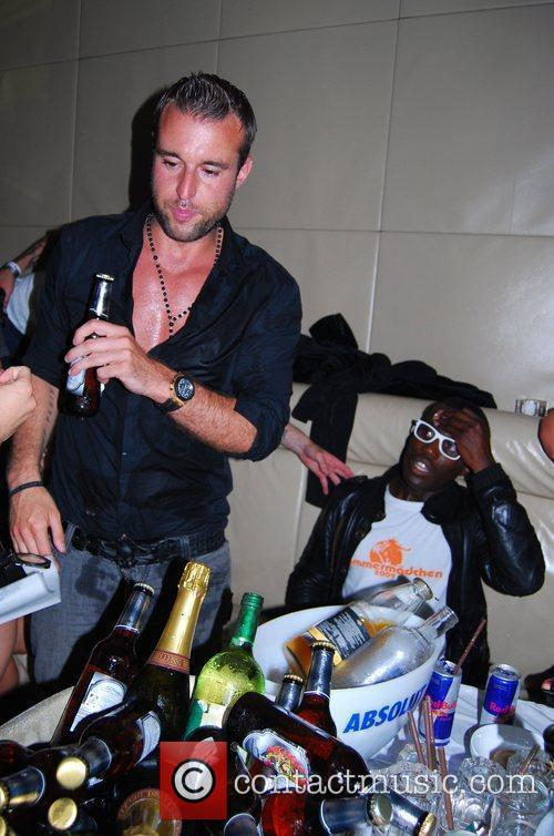 Philipp Blank Ed Hardy Night at Felix club...