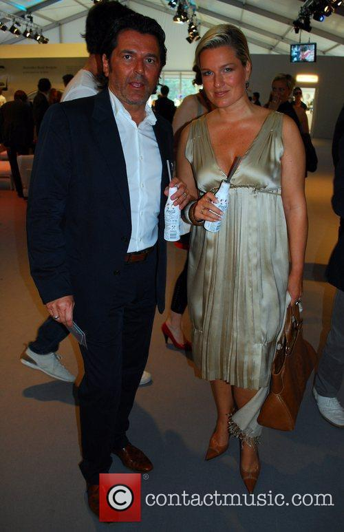 Thomas Anders and Mercedes Benz Fashion Week