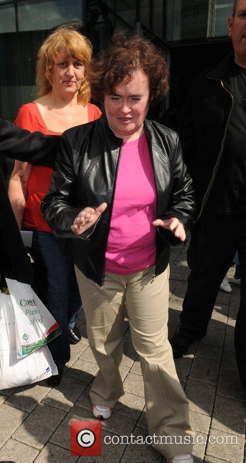 'Britain's Got Talent' finalist, Susan Boyle leaving her...