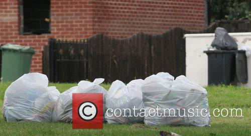 Bin Bags  ready for collection, as the...