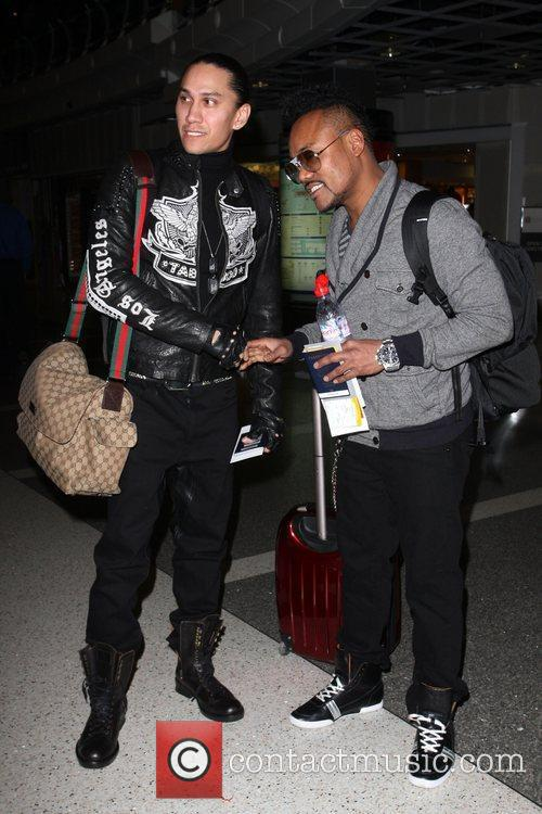 Taboo and Apl.de.ap of the Black Eyed Peas...
