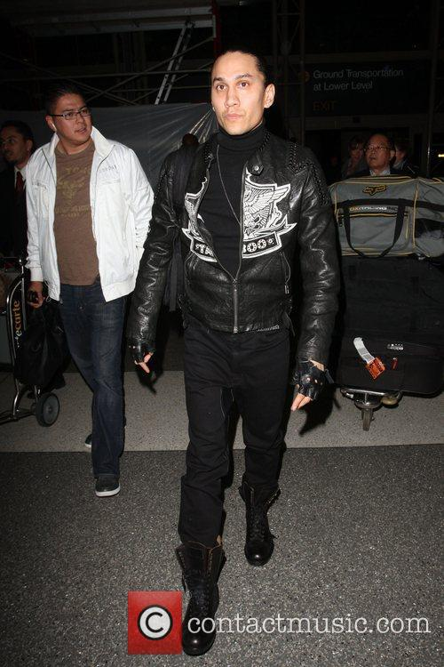 Taboo of the Black Eyed Peas arriving at...