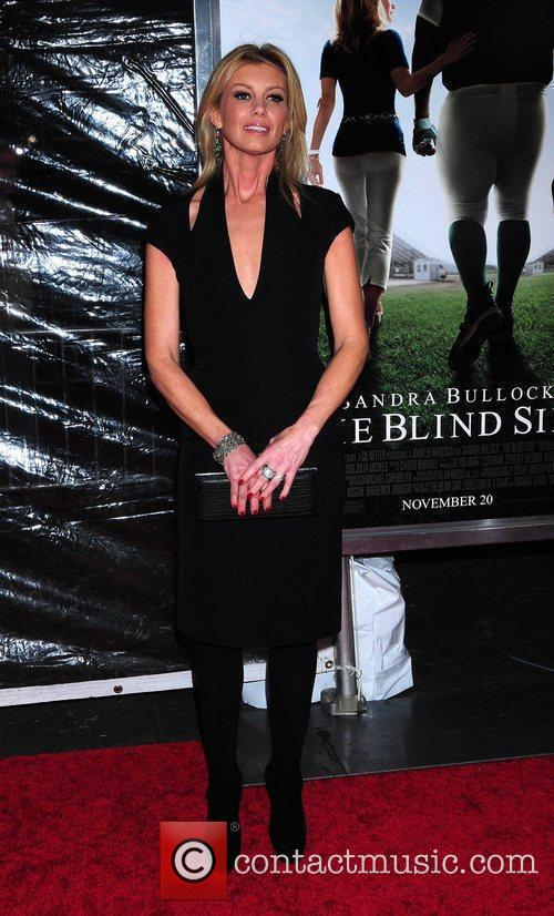 Faith Hill attends the premiere of 'The Blind...