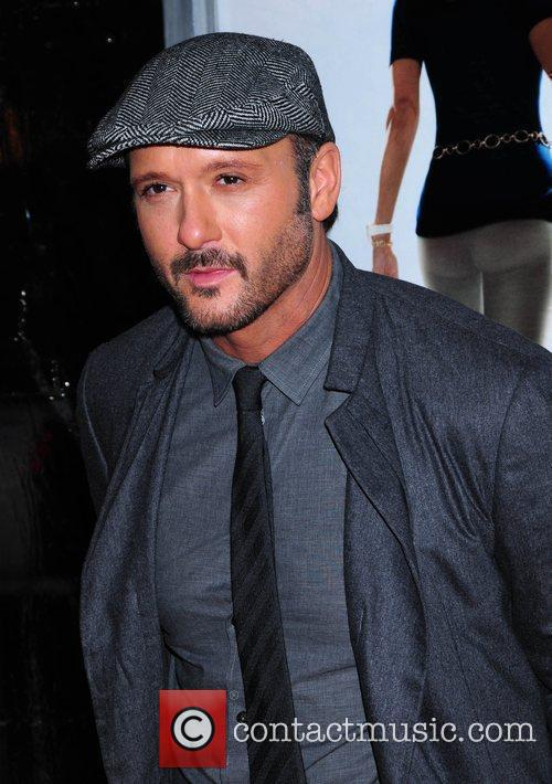 Tim McGraw attends the premiere of 'The Blind...