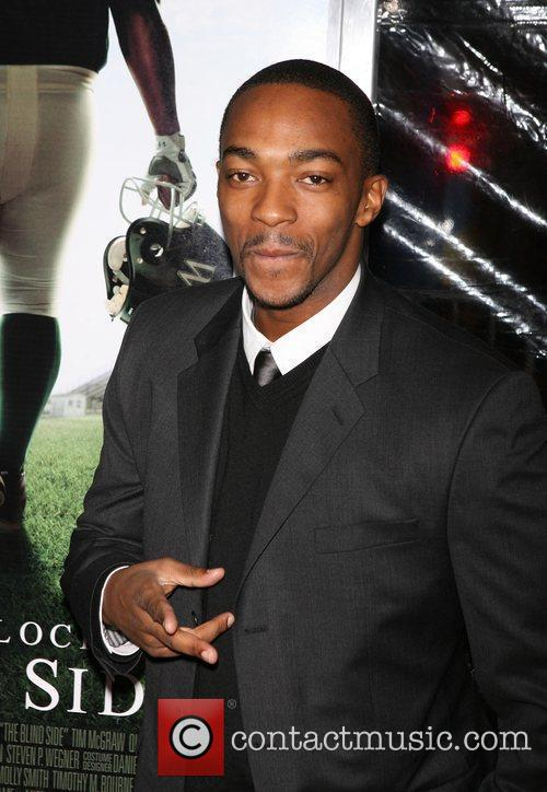 Anthony Mackie Premiere of 'The Blind Side' held...