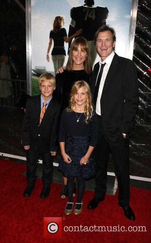 Premiere of 'The Blind Side' held at the...