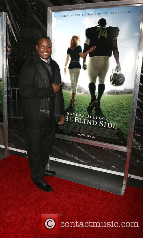 Quinton Aaron Premiere of 'The Blind Side' held...