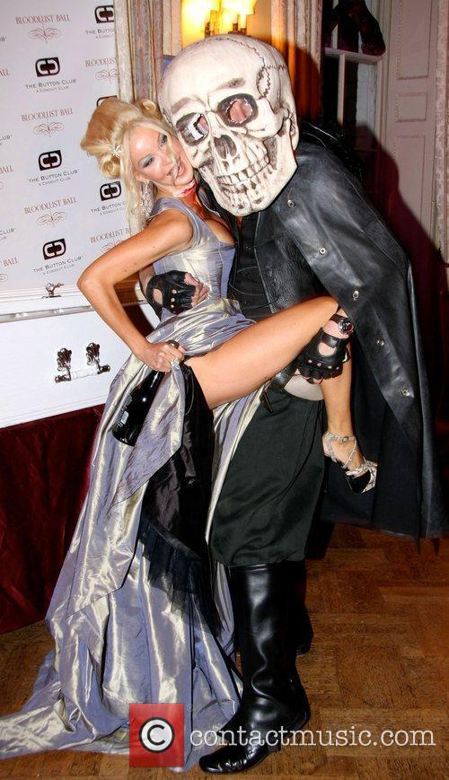 Alicia Duvall attends 2009 'Bloodlust Ball' at the...