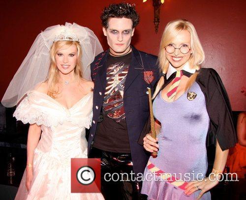 Cindy Jackson, Anneka Svenska attends 2009 'Bloodlust Ball'...