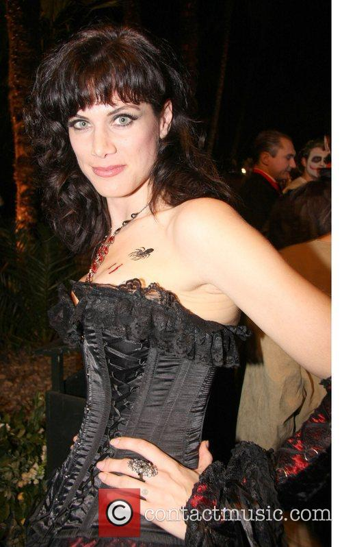 Partygoers attends 2009 'Bloodlust Ball' at the Hampton...