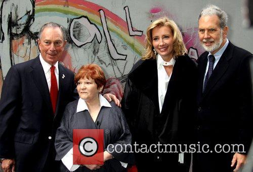 Mayor Michael Bloomberg, human rights organizer Helen Bamber,...