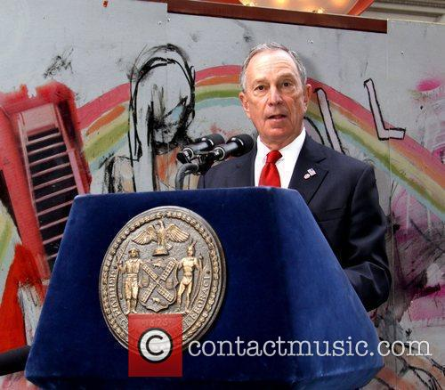 Mayor Michael Bloomberg  attends the 'Journey Exhibition'...