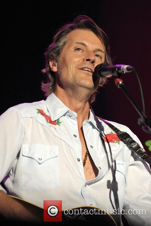 Blue Rodeo performs live on stage at the...