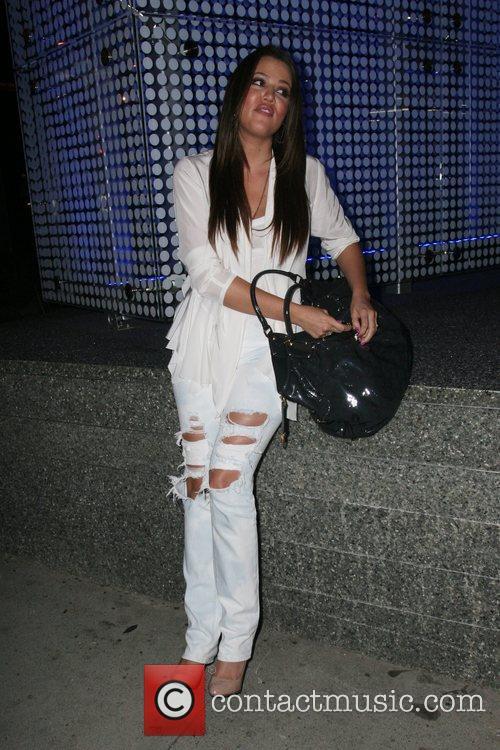 Khloe Kardashian leaving BOA Steakhouse in Beverly Hills...