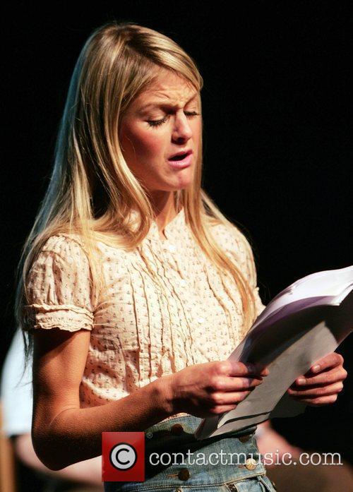 Nikki Grahame Celebrities rehearsing for 'Body Gossip: Tell...
