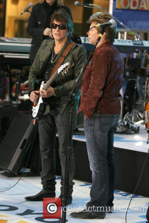 Richie Sambora and Jon Bon Jovi 8