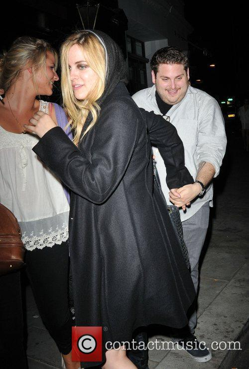 Riley Keough and Jonah Hill