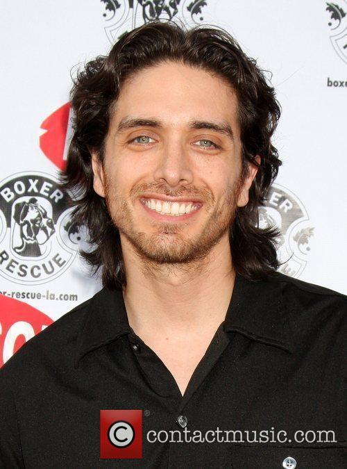 Josh Keaton arriving at A Special Shopping Night...
