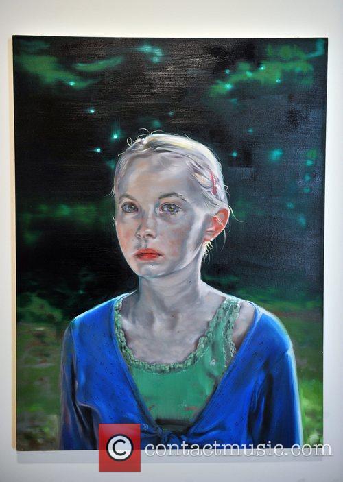 Winner Peter Morkman's work 'Changeling 2' BP Portrait...
