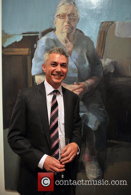 Jonathan Edwards BP Portrait Prize winner announcement held...